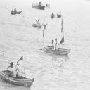 Sampan Race of Sha Tin District for the Festival of Hong Kong 1969