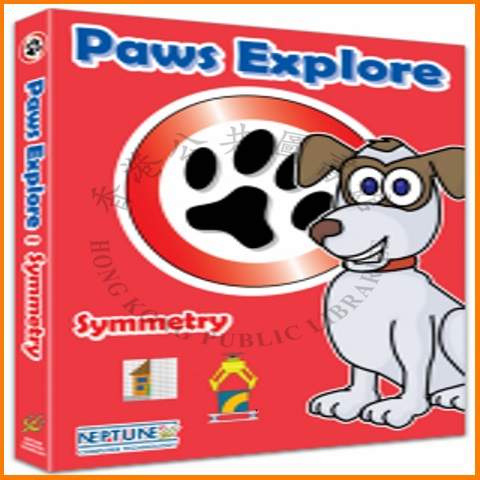 """This title allows children to explore the topic of symmetry through a selection of fun activities. With the Paws Explore duo (a friendly cat and dog), the player can choose from three levels of difficulty in each activity that covers recognising and creating one/two lines of symmetry, sorting images according to lines of symmetry and making/completing symmetrical patterns and pictures."" --container."