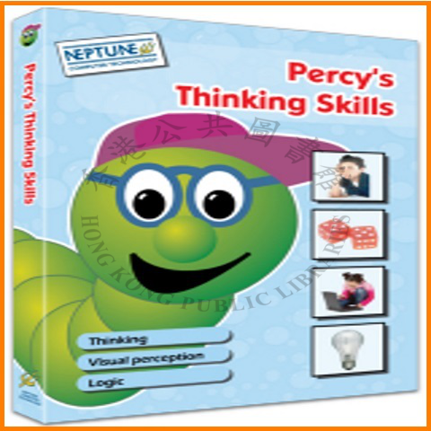 """Children can have fun using this Percy title that helps develop thinking, visual perception and logic skills.."" --container."