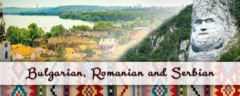 Bulgarian, Romanian and Serbian