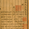 Changli Xiansheng Ji (Writings of Han Yu), 40 juan